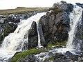 Waterfall on the Lon Coire Chaiplin - geograph.org.uk - 264705.jpg