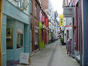 Wavre - Rue de la Source in Wavre town centre