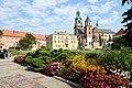 Wawel Royal Castle courtyard in Kraków, Poland.jpg