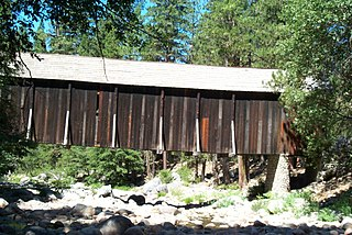 Wawona Covered Bridge place in California listed on National Register of Historic Places