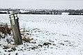 Waymark on bridleway east of Pike Hall Farm (2) - geograph.org.uk - 1656701.jpg