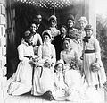 Wedding party of Dr Walter Fell and Margaret Richmond.jpg