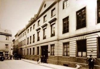 Schott Music - Image: Weihergarten historisch