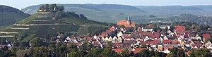 Weinsberg - Image: Weinsberg Panorama 3
