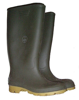Caving equipment - A pair of Wellington boots