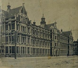 Pipitea Point railway station - New Zealand Railways headquarters 1905 to 1937