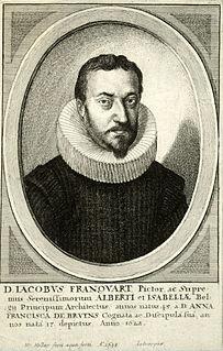 Jacob Franquart Flemish painter, architect, writer, poet, draughtsman and engineer