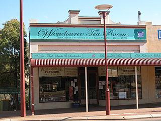 Wendouree Tearooms Building in Toodyay, Western Australia