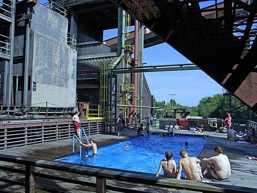 Werksschwimmbad (Kokerei in der Zeche Zollverein, Essen)