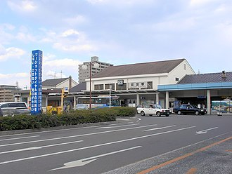 Iwakuni Station - Iwakuni Station in April 2007