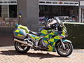 West Midlands Ambulance Service NHS Trust - motorbike - Ethel Street, Birmingham.jpg