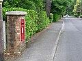 West Parley, postbox No. BH22 116, Dudsbury Road - geograph.org.uk - 1347452.jpg