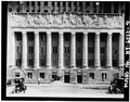 West elevation,central bays,showing frieze - Buffalo City Hall, 65 Niagara Square, Buffalo, Erie County, NY HABS NY,15-BUF,13-9.tif