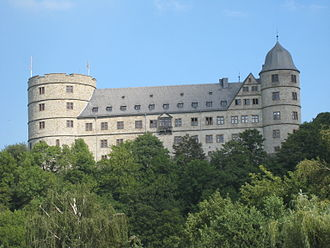 Wewelsburg - Wewelsburg, also seen from the Alme valley