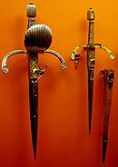 Wheel-lock daggers