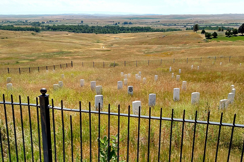 Where custer fell little big horn