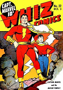 Captain Marvel Dc Comics Wikipedia