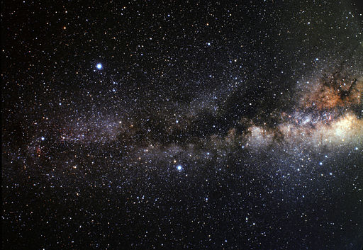 Wide-field view of the Summer Triangle