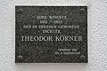 Wien 1.,Köllnerhofgasse Nr.3 Gedenktafel Theodor Körner-.jpg