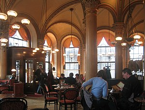 Viennese coffee house - Café Central in Vienna