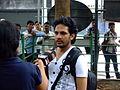 WikiTakesPune11-Nitin Jadhav.JPG
