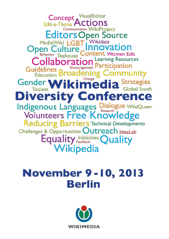 Logo of Wikimedia Diversity Conference