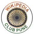 Wikipedia Club Pune republic Day 2013 Special Logo.png