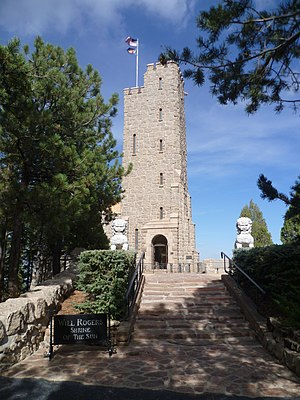 Cheyenne Mountain - Image: Will Rogers Shrine of the Sun, Cheyenne Mountain Zoo