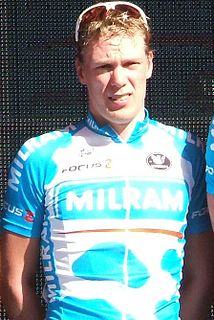 Wim Stroetinga Dutch cyclist