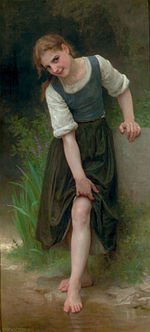 William-Adolphe Bouguereau (1825-1905) - The Ford (1895).jpg