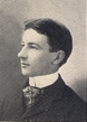 W. J. Forbes - Forbes pictured in Ariel 1898, Vermont yearbook