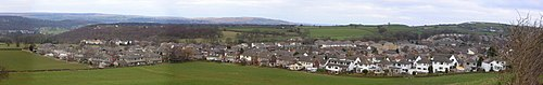 Panoramic view over Wilsden