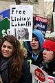 Wisconsin protest March 12, 2011 Lohan sign.jpg