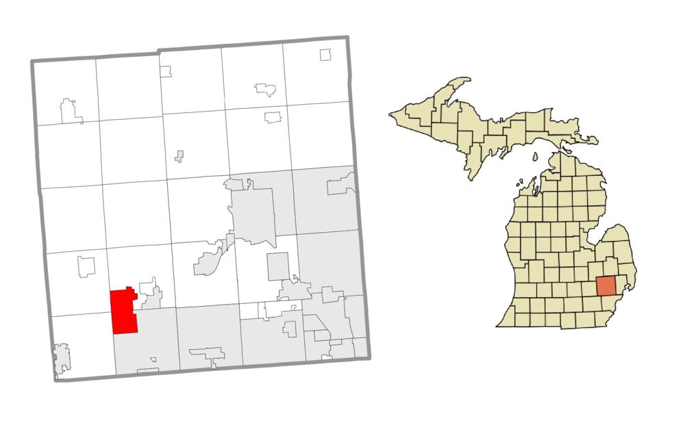 The population density of Wixom in Michigan is 556.39 people per square kilometer (1440.55 / sq mi)
