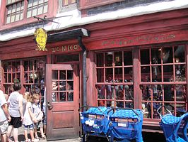 Wizarding World of Harry Potter - Zonkos Joke Shop (5014151686).jpg
