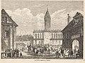 Wjazd Langiewicza do Tarnowa. Rycina M. Victora z 1863 r.jpg