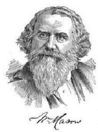 William Mason (locomotive builder) - William Mason
