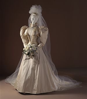 White Wedding Dress From 1891