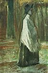 Woman with White Shawl in a Wood.jpg