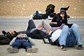 Women on the Arba'een Walk-Mehran city-Iran زنان در پیاده روی اربعین در مرز مهران- عکاسی خبری 22.jpg