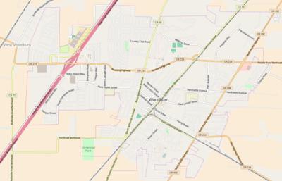 Module:Location map/data/USA Oregon Woodburn - Wikipedia