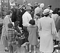 Woodland, California. Farm families of Japanese ancestry waiting at the railroad station for the sp . . . - NARA - 537809 (cropped).jpg