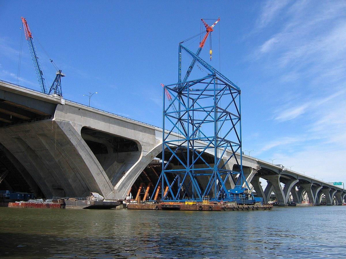 Woodrow Wilson Bridge Design Chosen  Civil Engineering