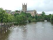 Worcester regno unito wikipedia for Piani di casa in tudor