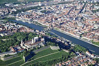 Würzburg - Würzburg with Fortress Marienberg