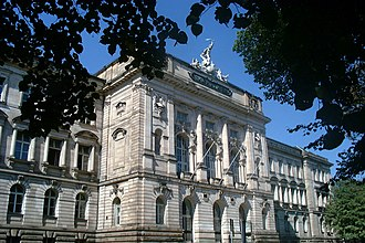 University of Würzburg - Neue Universität main building, built in 1896