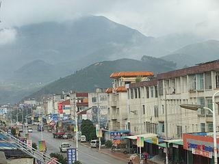Xiazhai, Fujian Town in Fujian, China