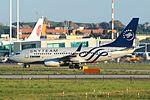 YR-BGF - Boeing 737-78J(WL) - Tarom (25918430141).jpg