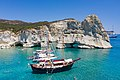 Yachts at Kleftiko on Milos Island, Greece.jpg