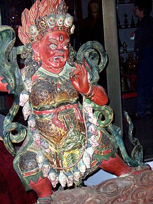 Yama - Yama is revered in Tibet as the Lord of Death and as a guardian of spiritual practice.